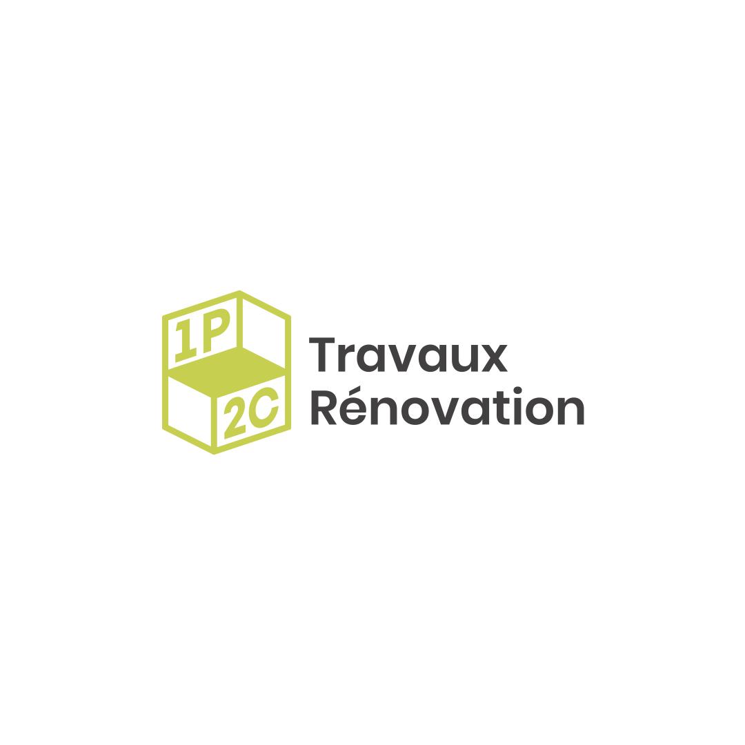 logo 1p2c travaux renovation / %sitename