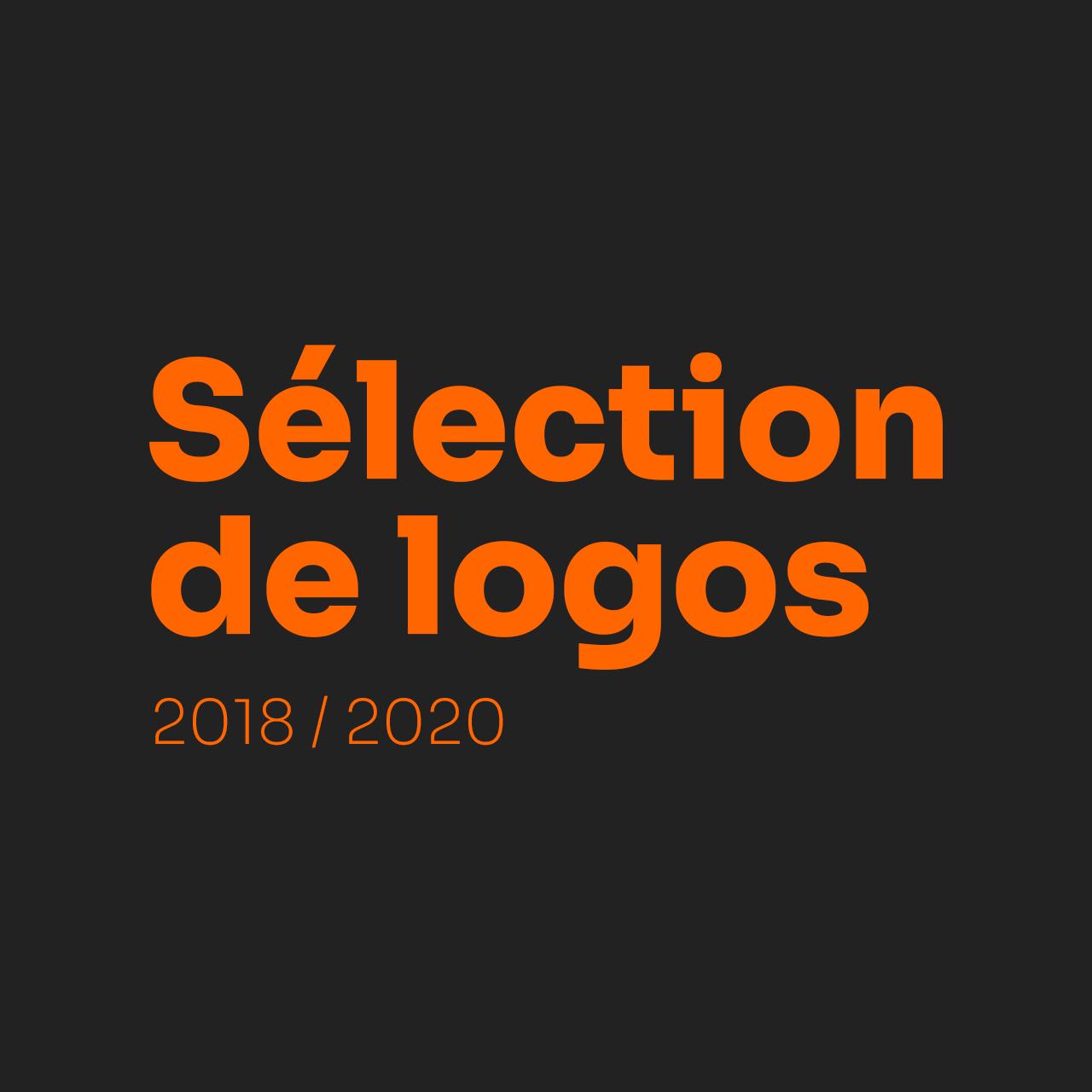 Découvrez une sélection de logo créé entre 2018 et 2020