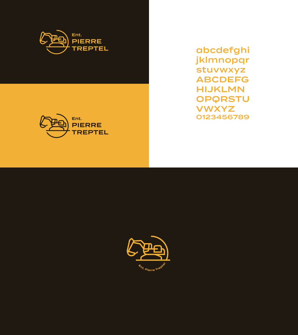 creation charte typographie pierre treptel / %sitename