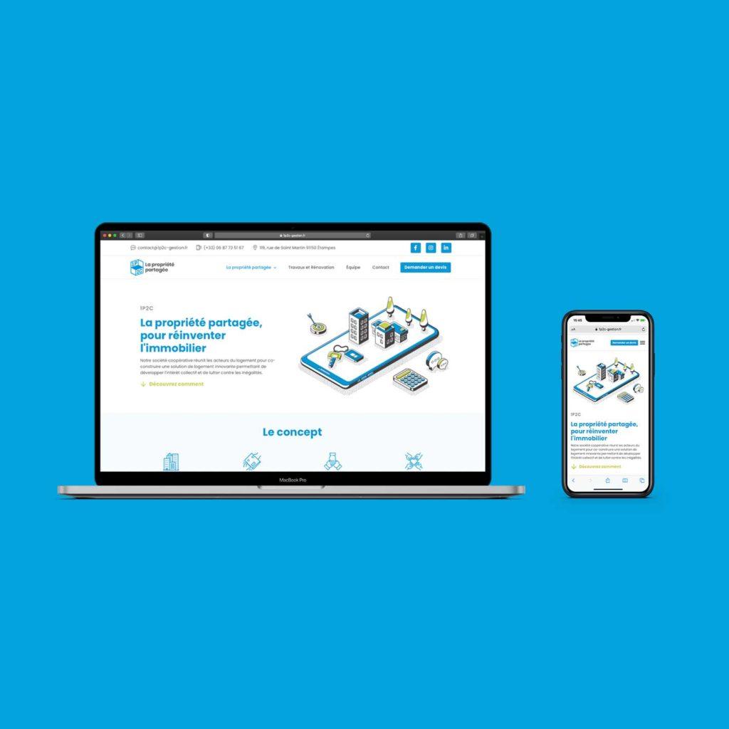 site web 1p2c mobile / %sitename