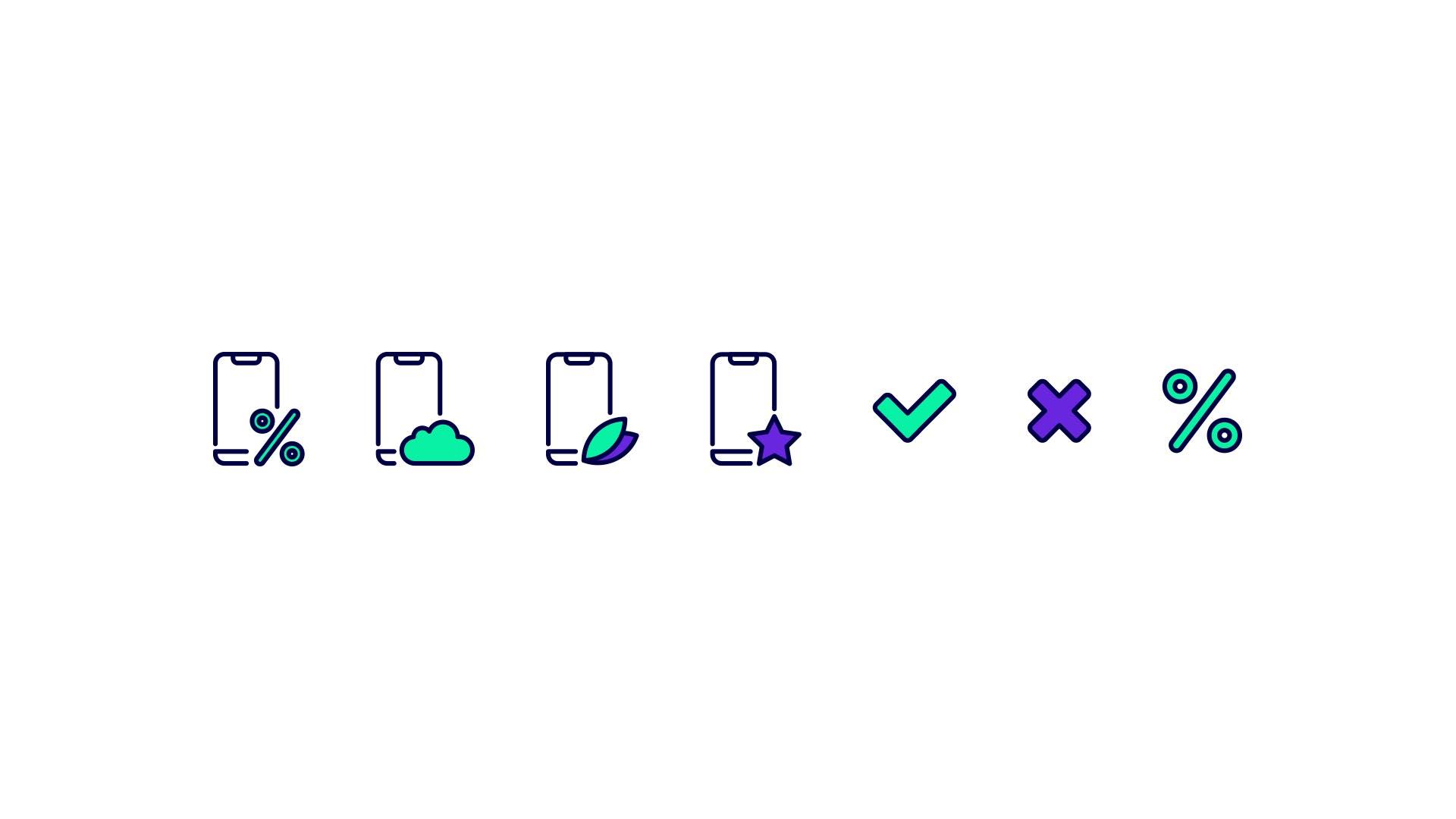création des icones pour l'application Socle App par Axel Mary designer graphique à Orléans