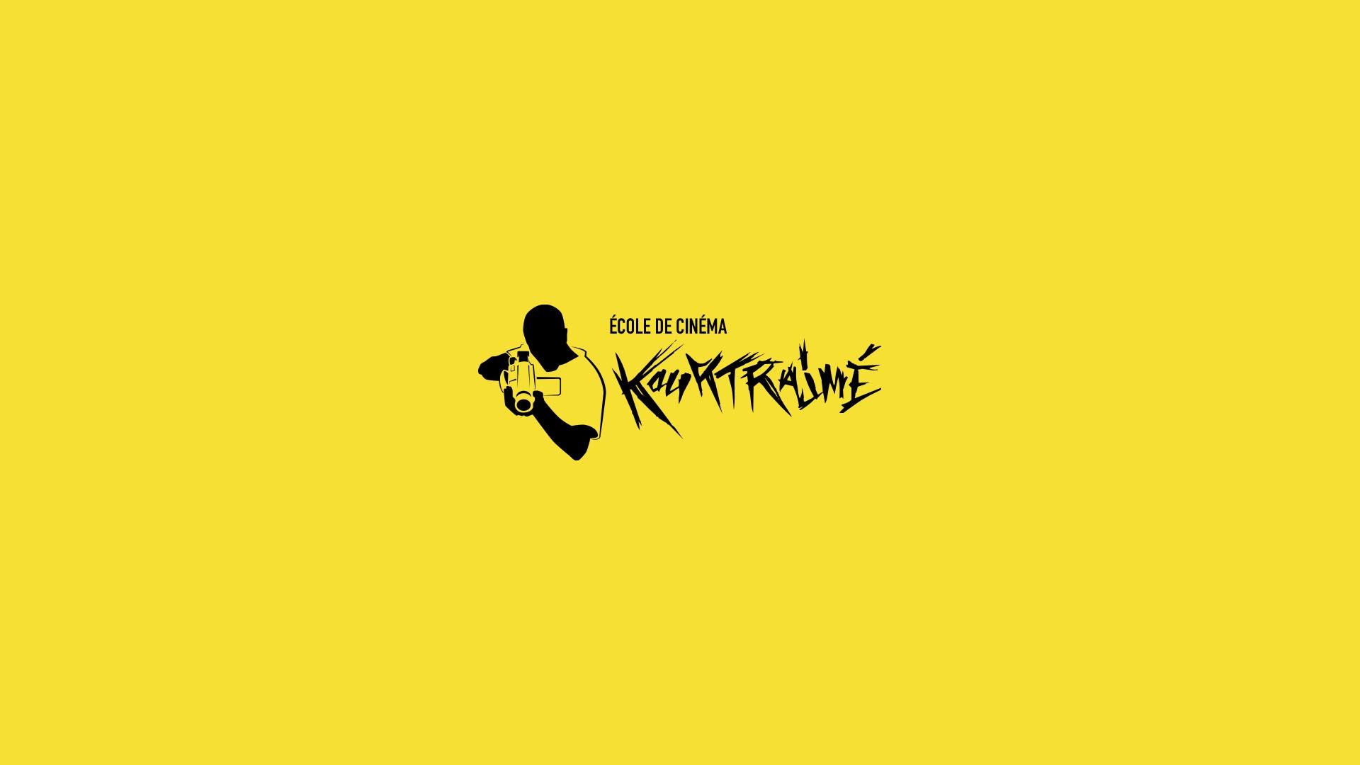 logo ecole kourtrajmé jaune / %sitename